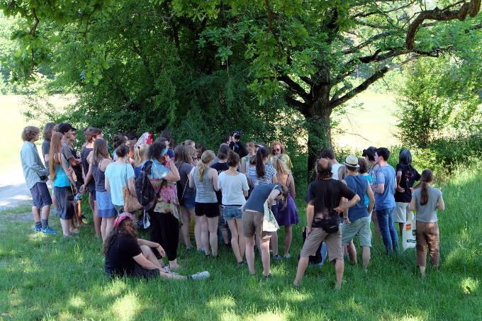 Kräuterworkshop auf dem Aufstand 2015 - Foto: NAJU BW